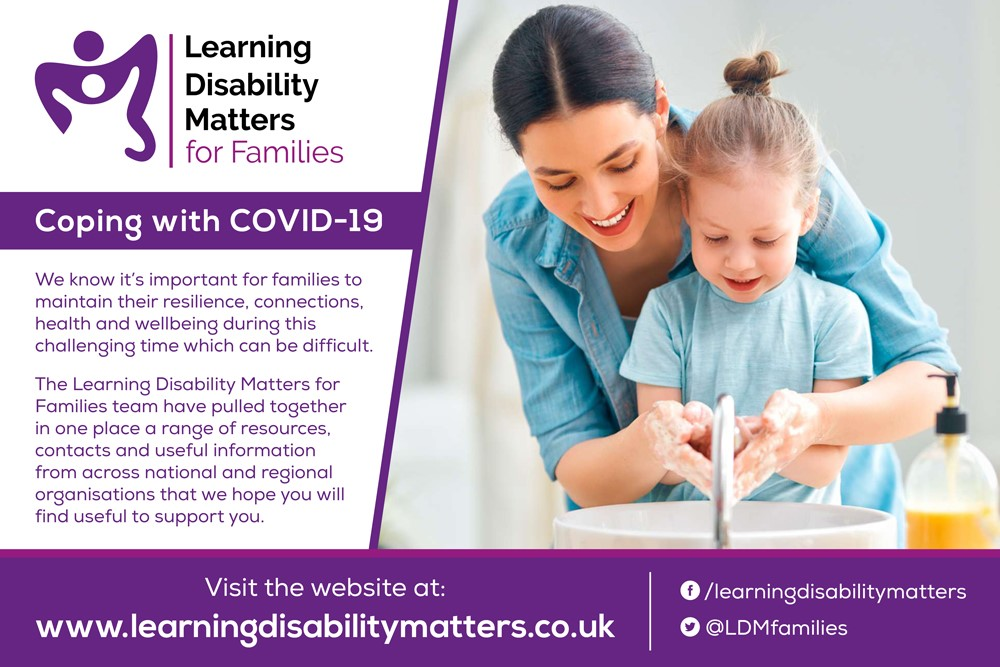 Learning disability banner